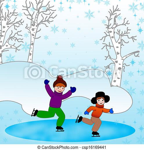 Clipart children winter, Clipart children winter Transparent FREE for  download on WebStockReview 2020