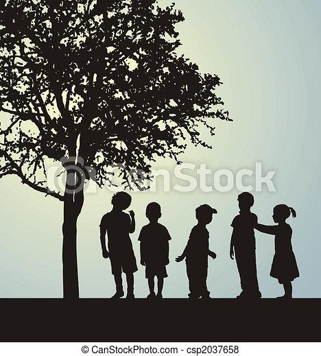 Children - csp2037658