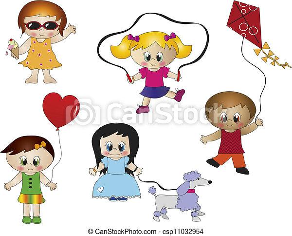 children  - csp11032954