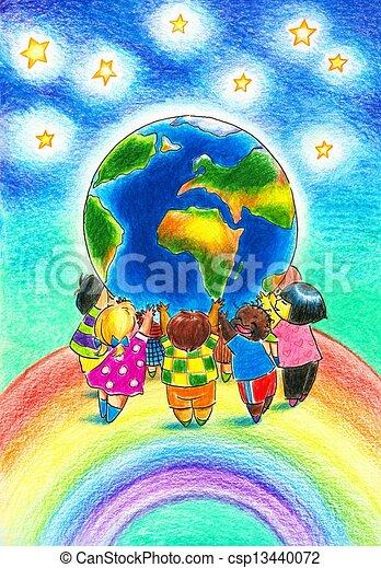 Children - csp13440072