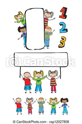 children  - csp12027808
