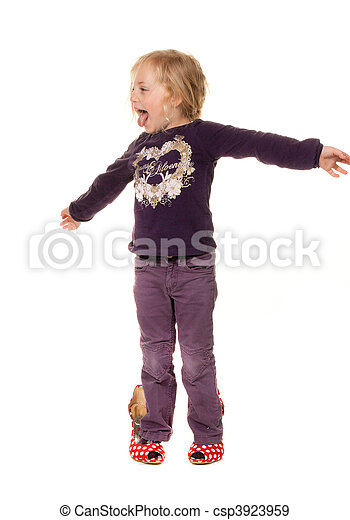 Children With Big Shoes Symbol For Growth And Future Stock