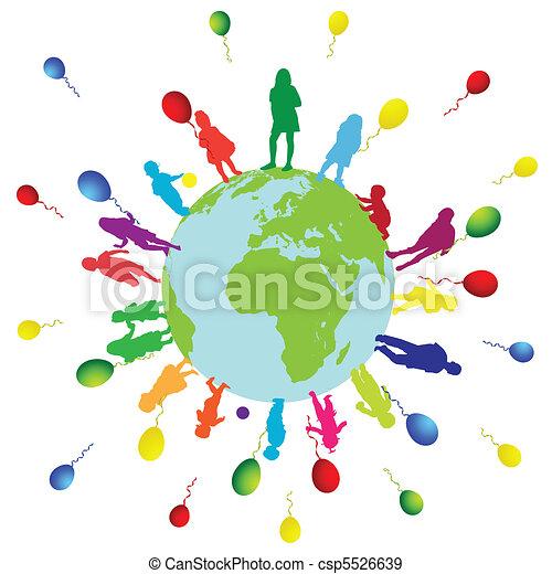 Children world - csp5526639