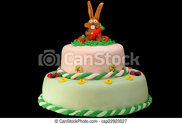 Surprising Childrens Birthday Cake On Black Background Funny Birthday Cards Online Alyptdamsfinfo