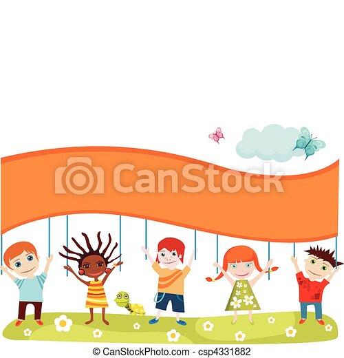 childrens card - csp4331882