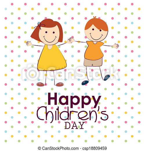 Children S Day Abstract Children S Day Background With Special Objects