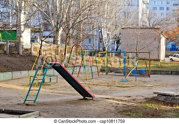 Children's playground - csp10811759