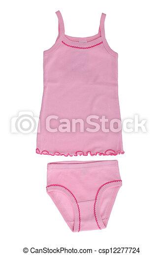 Children's underwear. Set for the girl's underwear ...