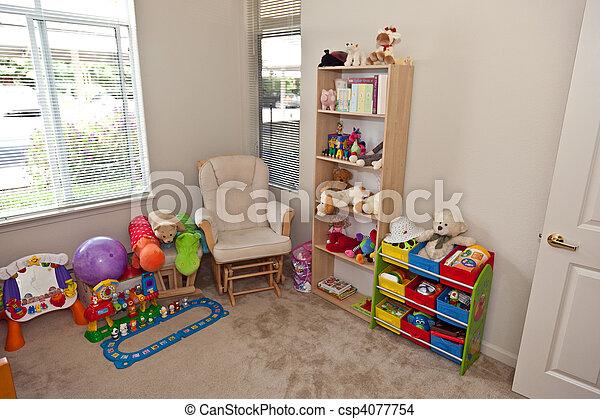 Child\'s bedroom - csp4077754