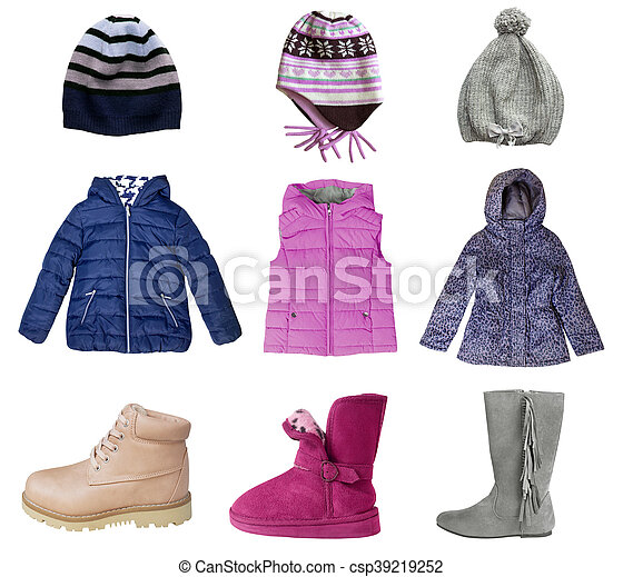 Child S Clothes Set Isolated