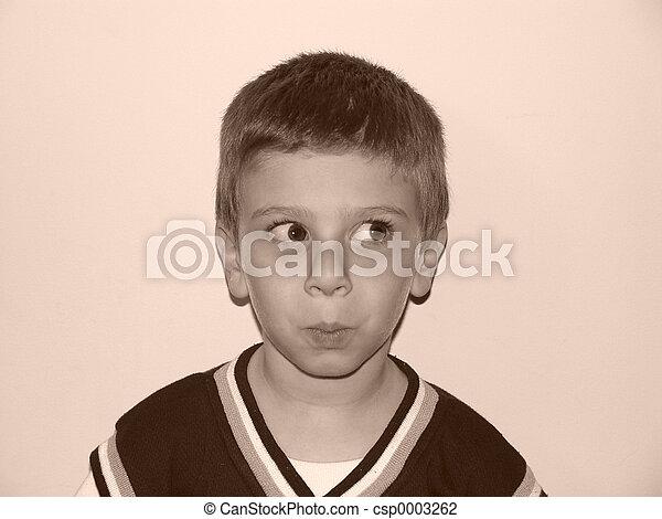 Childs Expression 2 - csp0003262