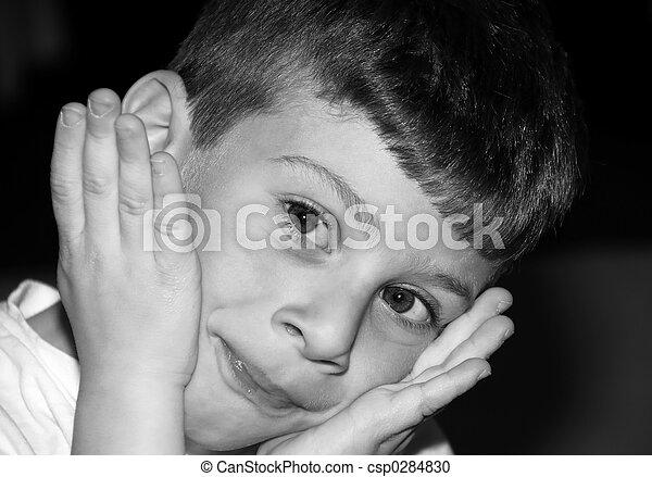 Childs Expression - csp0284830