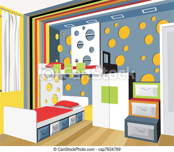 Colorful Child S Room For Two Children