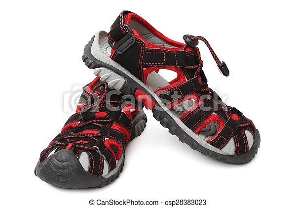 Child's shoes  - csp28383023
