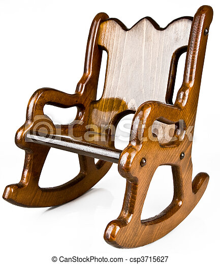 Small Child S Solid Wood Rocking Chair