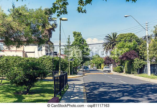 chile, santiago, las, comuna, calle, condes - csp81117163