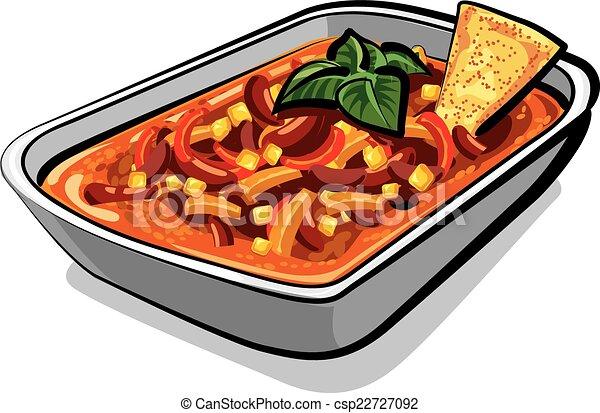 chili con carne  - csp22727092