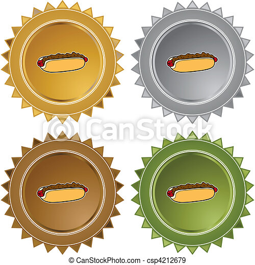 chili dog - csp4212679