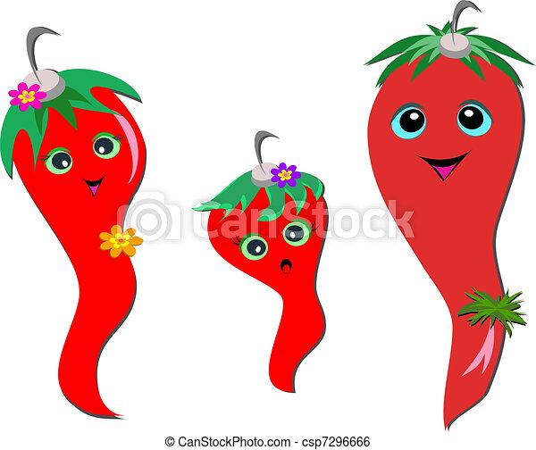 Chili Pepper Family - csp7296666