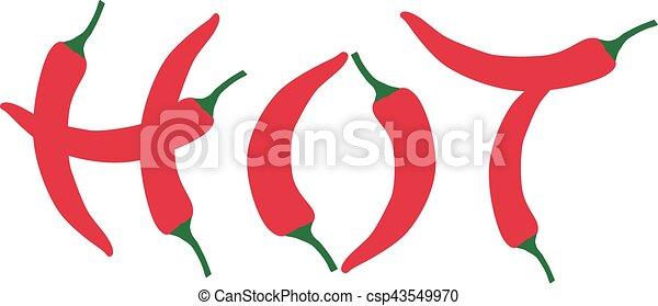 Chili Bilder chili pfeffer heiß vektoren illustration suche clipart