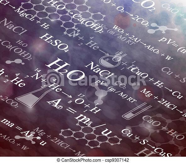 chimique, fond - csp9307142