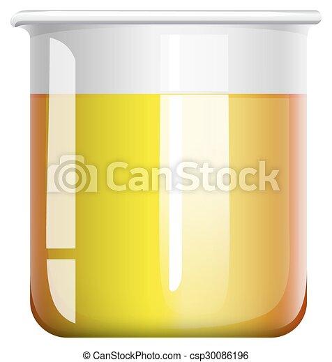 chimique, gobelet, mélange - csp30086196