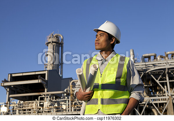 chimique, industriel, ingénieur - csp11976302