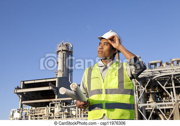 chimique, industriel, ingénieur - csp11976306