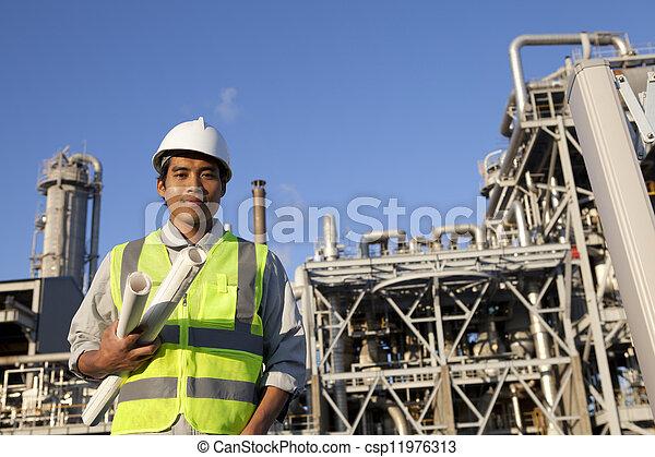 chimique, industriel, ingénieur - csp11976313