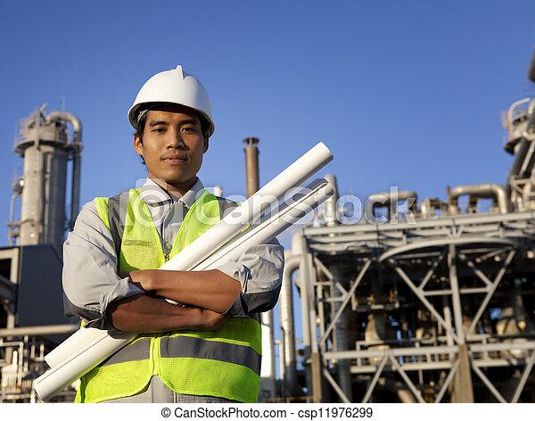 chimique, industriel, ingénieur - csp11976299