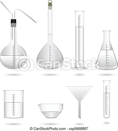 chimique, laboratoire science, équipement - csp5668887