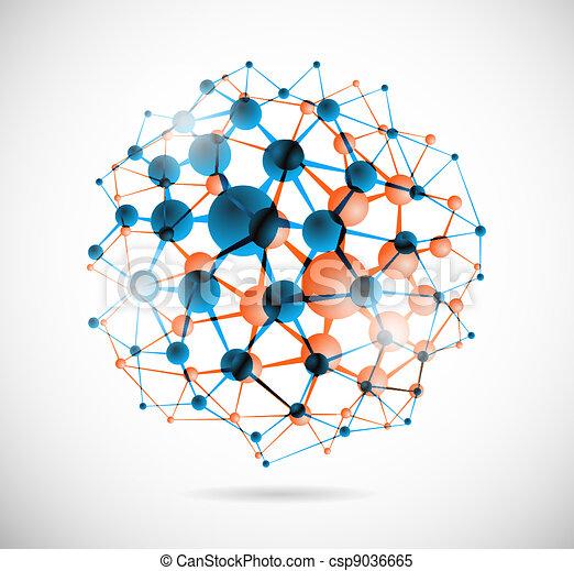 chimique, sphère - csp9036665
