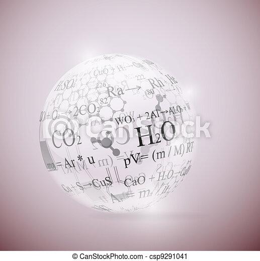 chimique, sphère - csp9291041