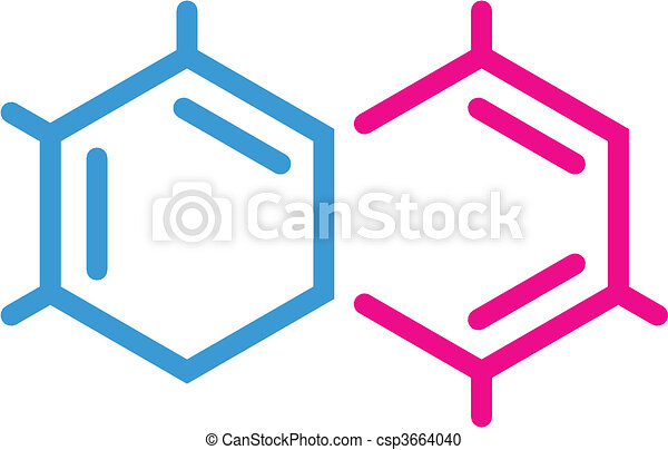 chimique, symbole - csp3664040