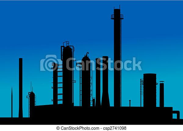 chimique, usine - csp2741098