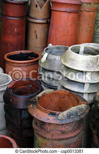 Chimney Pots - csp0013381