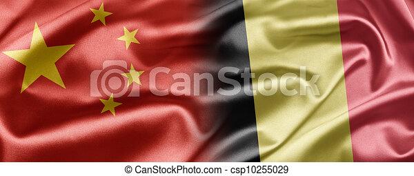 China and Belgium - csp10255029