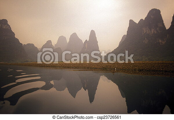 china, guilin, asia - csp23726561