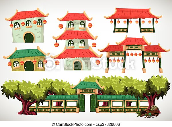 China house objects for the game and animation, game design et ... on house planner games, architect games, house decorating games, house design, house building games, house builder games, design games,