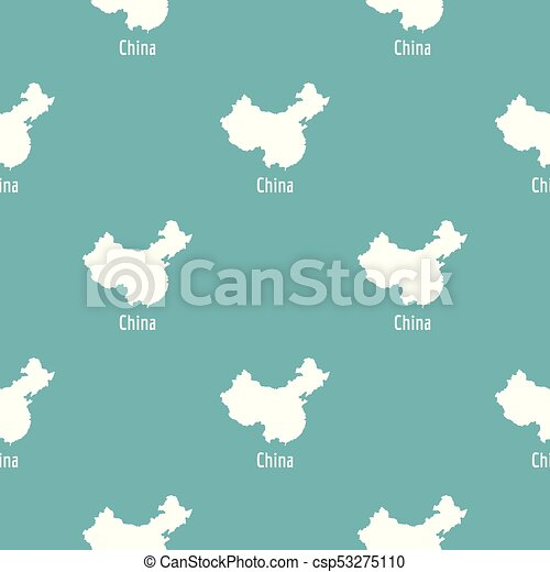 China Map In Black Vector Simple China Map In Black Simple