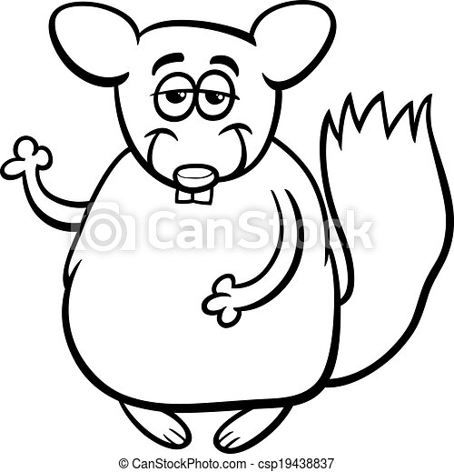 chinchilla coloring pages to print.html