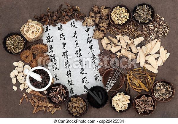 Chinese Alternative Medicine - csp22425534