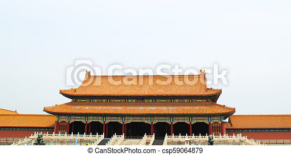 Chinese building. - csp59064879