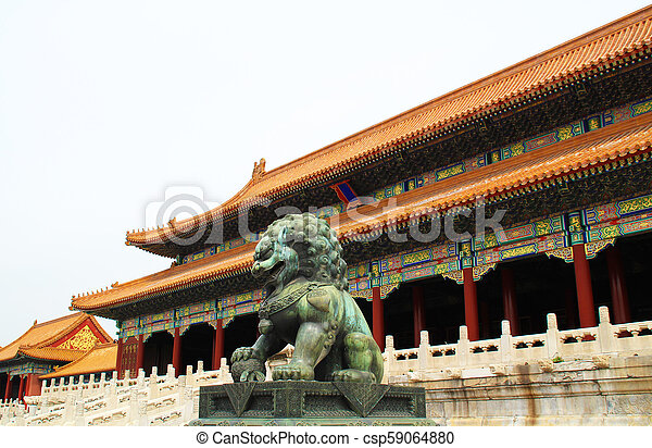 Chinese building. - csp59064880