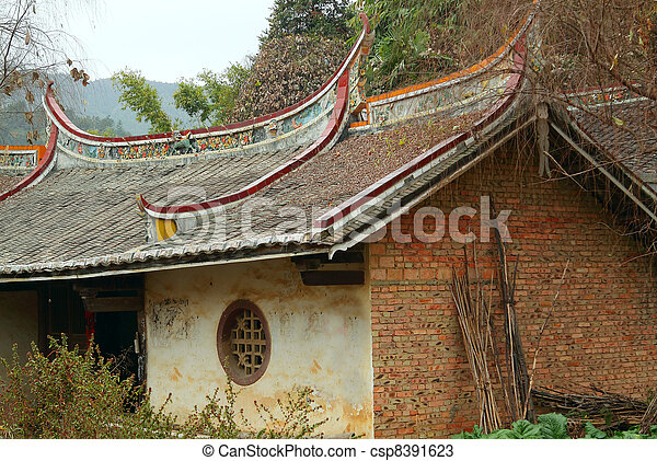 chinese building - csp8391623