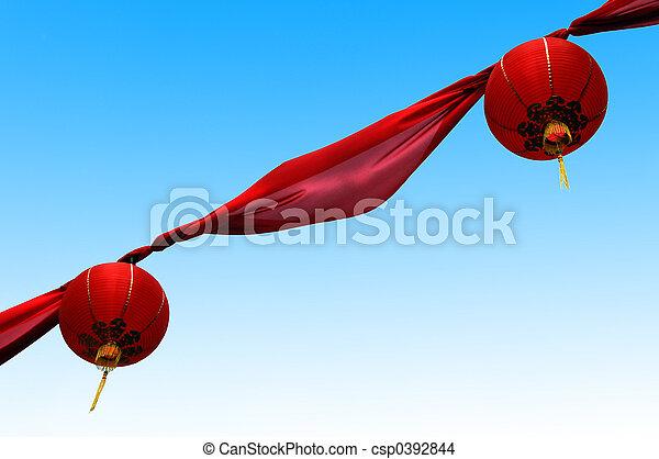 Chinese decoration - csp0392844