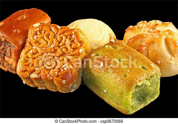 Chinese desserts - csp0670069