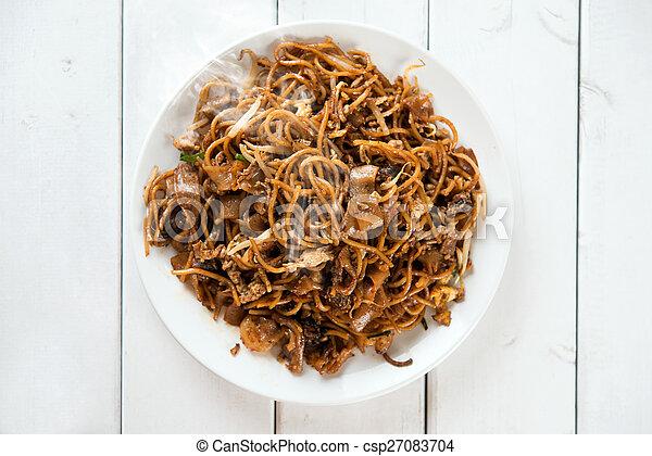 Chinese dish Char Kuey Teow - csp27083704