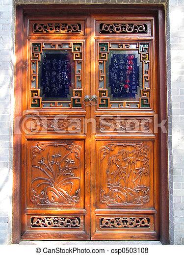 Chinese door - csp0503108