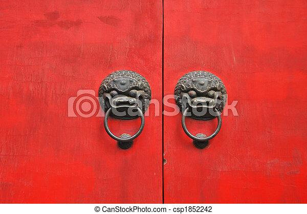 chinese door - csp1852242